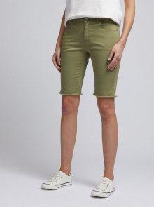 Zelené džínové kraťasy Dorothy Perkins - XS