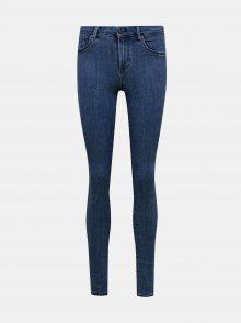 Modré skinny fit džíny ONLY Rain - XS