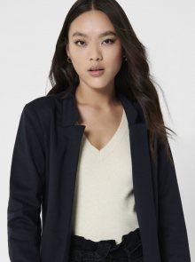 Tmavě modrý lehký kabát ONLY Penny - XS