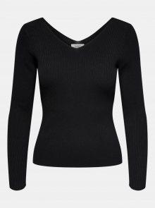 Černé tričko Jacqueline de Yong Nannna - XS