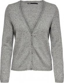 ONLY Dámský svetr ONLLESLY 15211789 Medium Grey Melange M