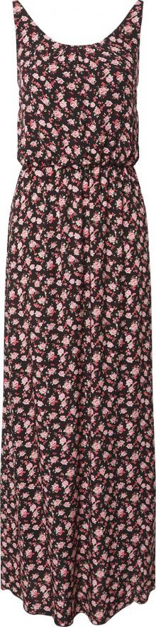 Hailys Letní šaty \'Doris\' černá / světle růžová / růžová / zelená / pitaya