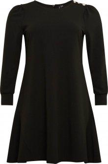 Vero Moda Curve Šaty \'Jasmine\' černá