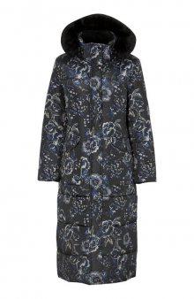 Zateplený kabát / se vzorem
