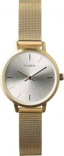 Pilgrim Analogové hodinky \'Rosemary\' zlatá / stříbrná