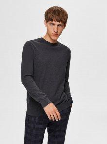 Šedý basic svetr Selected Homme Berg