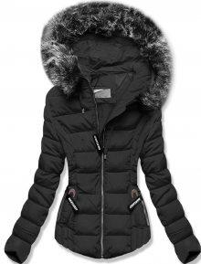 MODOVO Zimní prošívaná  bunda černá