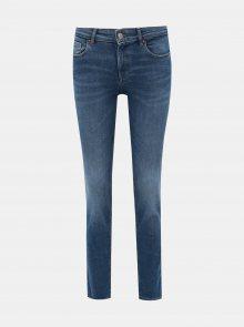Modré slim fit džíny ONLY Feva - XS