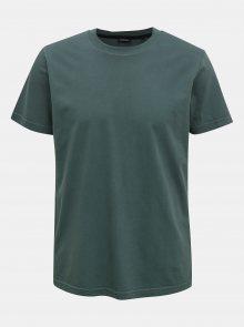 Tmavě zelené pánské tričko Diesel - S