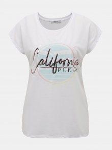 Bílé dámské tričko Haily´s Cali - XS