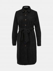 Černé manšestrové košilové šaty Haily´s Marie - XS