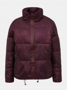 Vínová dámská prošívaná zimní bunda Haily´s Ina - S
