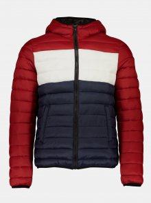 Červená zimní prošívaná bunda Shine Original