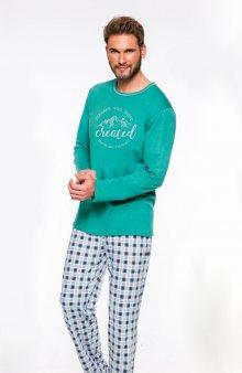 Pánské pyžamo Taro Leo 2264 dł/r M-2XL \'20 tmavě modrá XXL