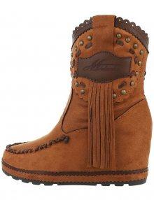 Dámské klínové kotníkové boty