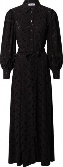 EDITED Košilové šaty \'Jolanda\' černá