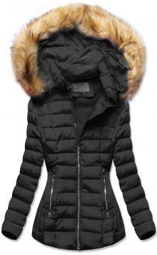 MODOVO Zimní bunda s kapucí černá