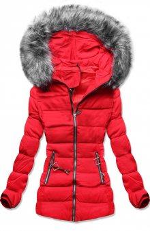MODOVO Dámská zimní bunda červená