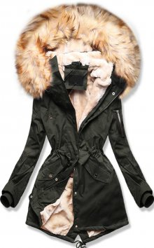 MODOVO Dámska zimní bunda khaki
