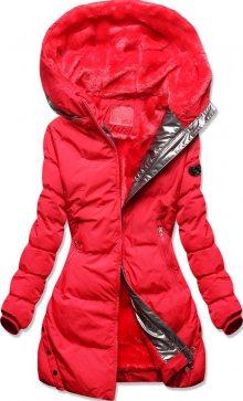 MODOVO Zimní bunda s podšívkou červená