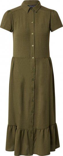Dorothy Perkins Košilové šaty khaki