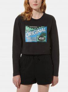 Černé dámské tričko VANS - XS