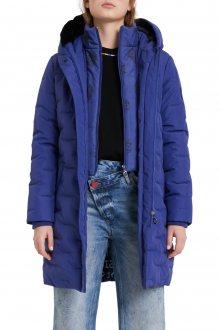 Desigual modrý kabát Padded Anya - S