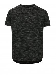Tmavě šedé klučičí vzorované tričko LIMITED by name it Nilas