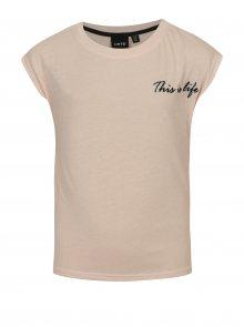Světle růžové holčičí tričko LIMITED by name it Noisa