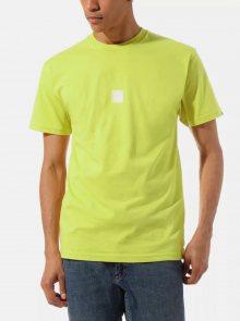 Žluté pánské tričko VANS - XS