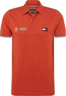 Tommy Hilfiger Tailored Tričko oranžově červená