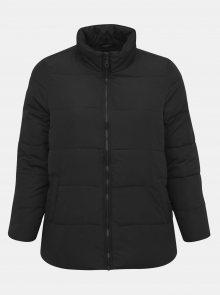 Černá prošívaná zimní bunda Zizzi Selma - 46-48
