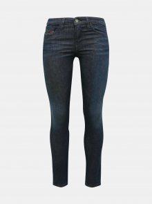 Tmavě modré dámské skinny fit džíny Diesel - XS