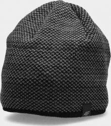 Pánská zimní čepice 4F CAM156 Tmavě šedá L