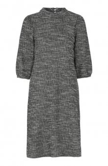 Šaty Lova / černá/se vzorem