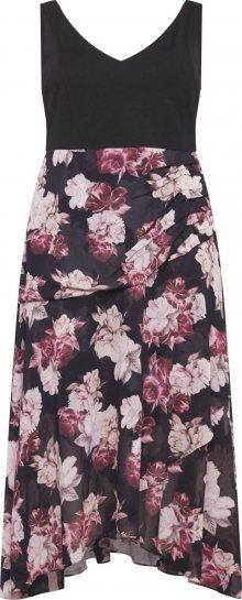 Forever New Šaty \'Bridget\' fialová / černá / růžová