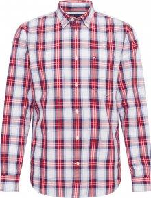 TOMMY HILFIGER Košile červená / bílá / modrá