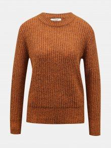 Hnědý svetr Jacqueline de Yong Tessa