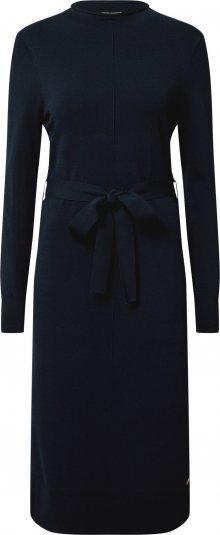 MINE TO FIVE Úpletové šaty tmavě modrá
