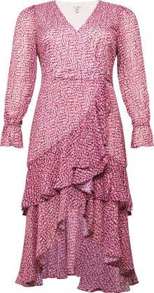 Forever New Šaty růžová / mix barev