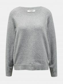 Světle šedý svetr Jacqueline de Yong - S