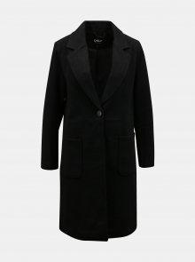 Černý kabát s příměsí vlny ONLY Olivia - XS