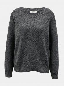 Tmavě šedý svetr Jacqueline de Yong - S