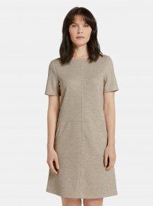 Béžové dámské šaty Tom Tailor - XS