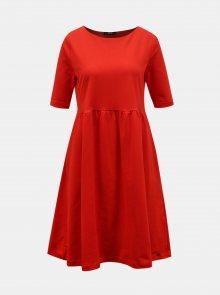 Červené šaty s kapsami ZOOT Baseline Monika 2