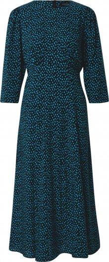 Dorothy Perkins Šaty \'Empire\' černá / modrá