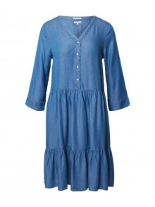 TOM TAILOR Šaty modrá