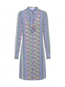 Vero Moda Copenhagen STUDIO Košilové šaty \'RIBORG\' světlemodrá