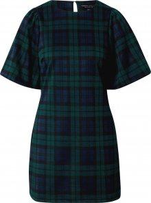 Dorothy Perkins Šaty černá / zelená / modrá