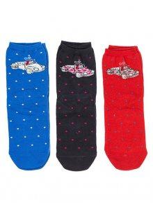 Kukuxumusu Dámské ponožky, set 3 páry 95136-SURTIDO
